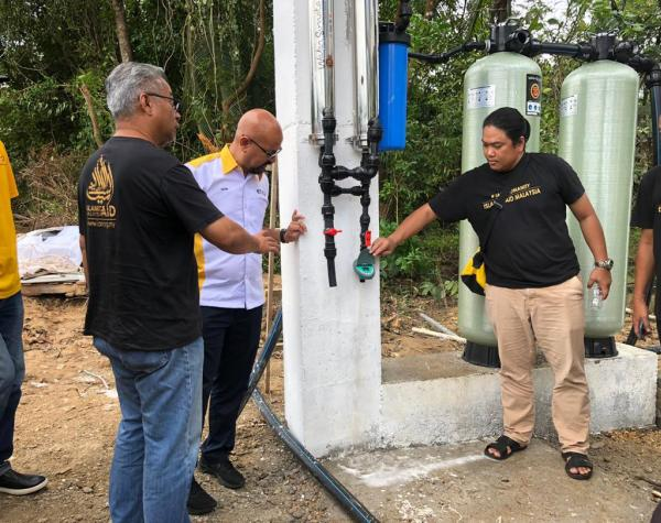 Etiqa helps make clean water a reality for villages in Malaysia