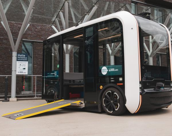 AG insures the first self-drive vehicle on the road in Belgium