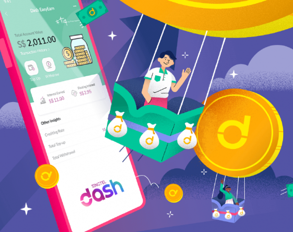 Etiqa and Singtel collaborate to create Dash EasyEarn