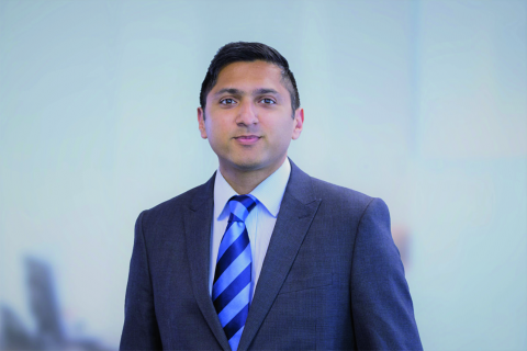 Asif Khan at Riverdale Insurance, one of the first brokers to benefit from Ageas's video account management team